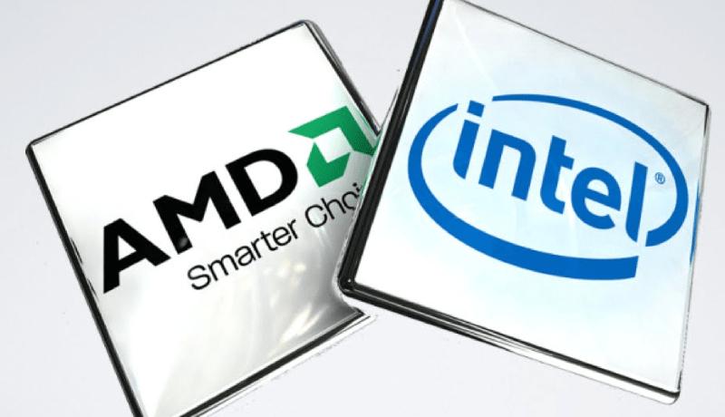 Intel AMD  min