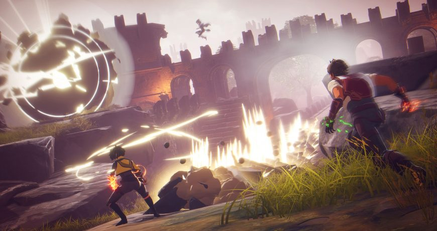 UnrealEngine developer interviews spellbreak is a unique battle royale game that combines magic rogue like and rpg elements feature bfccaebbabbddd