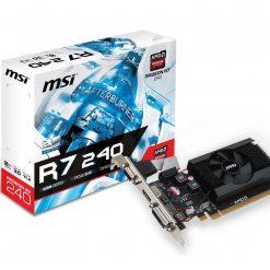 MSI Radeon R7 240 2GD3 64b LP 2GB DDR3 videokártya